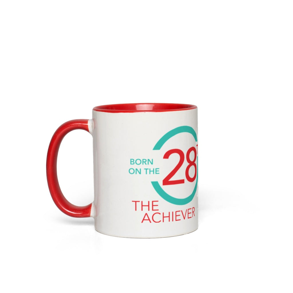Born on the 28th Mug