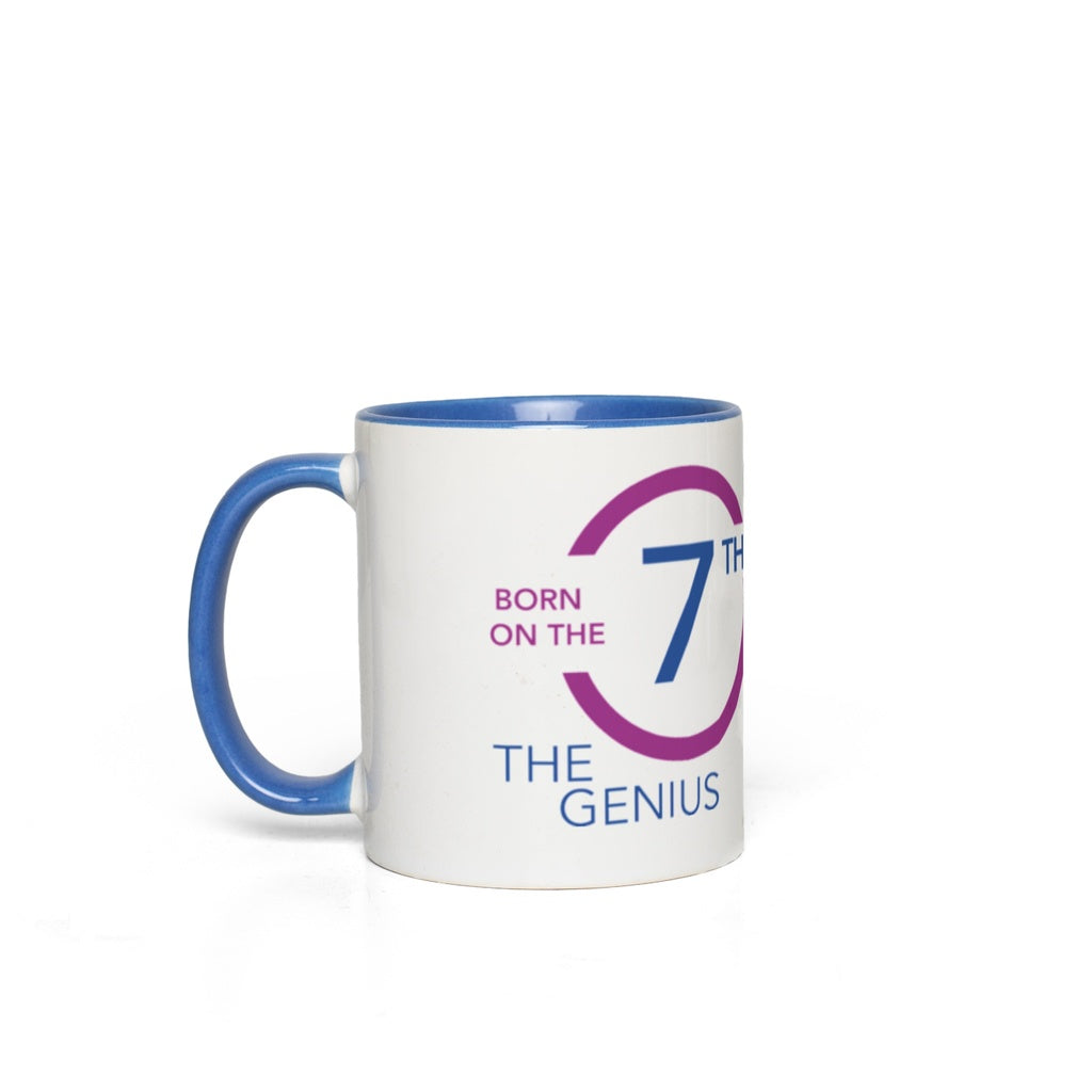 Born on the 07th Mug