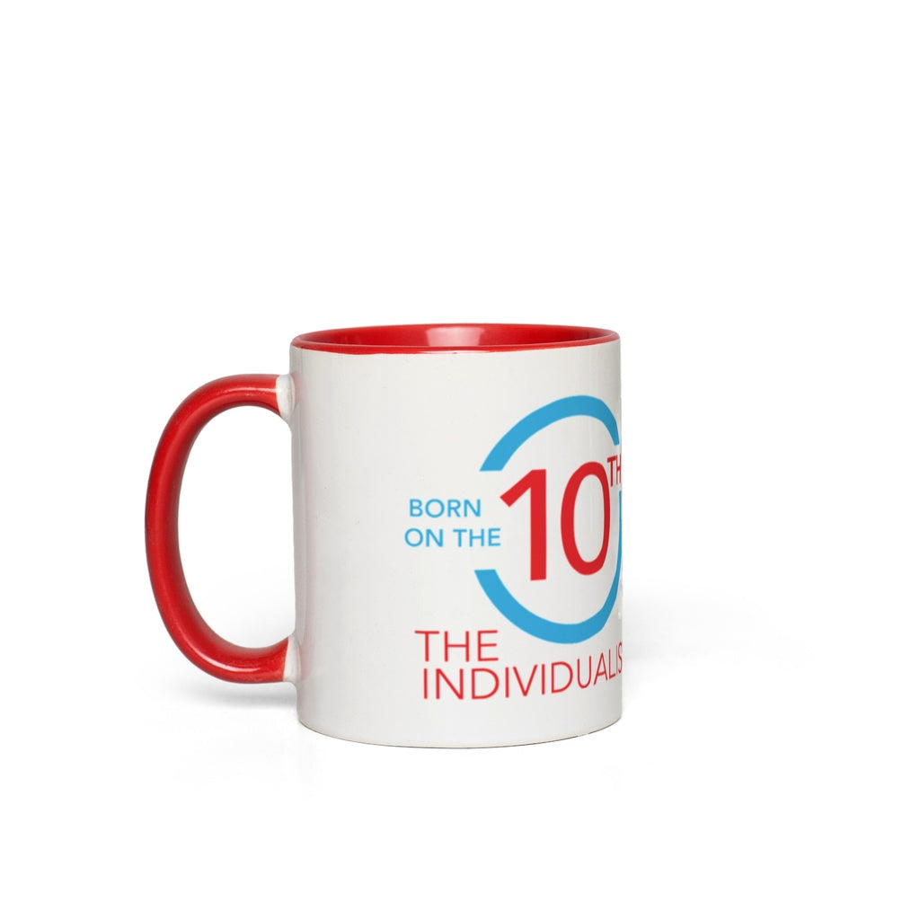 Born on the 10th Mug