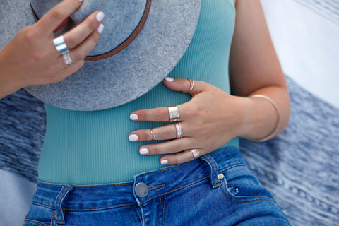 Ebb & Flow Jewelry Ring Size Guide