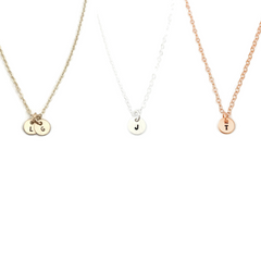 Ebb & Flow Jewelry - Tiny Disc Necklace