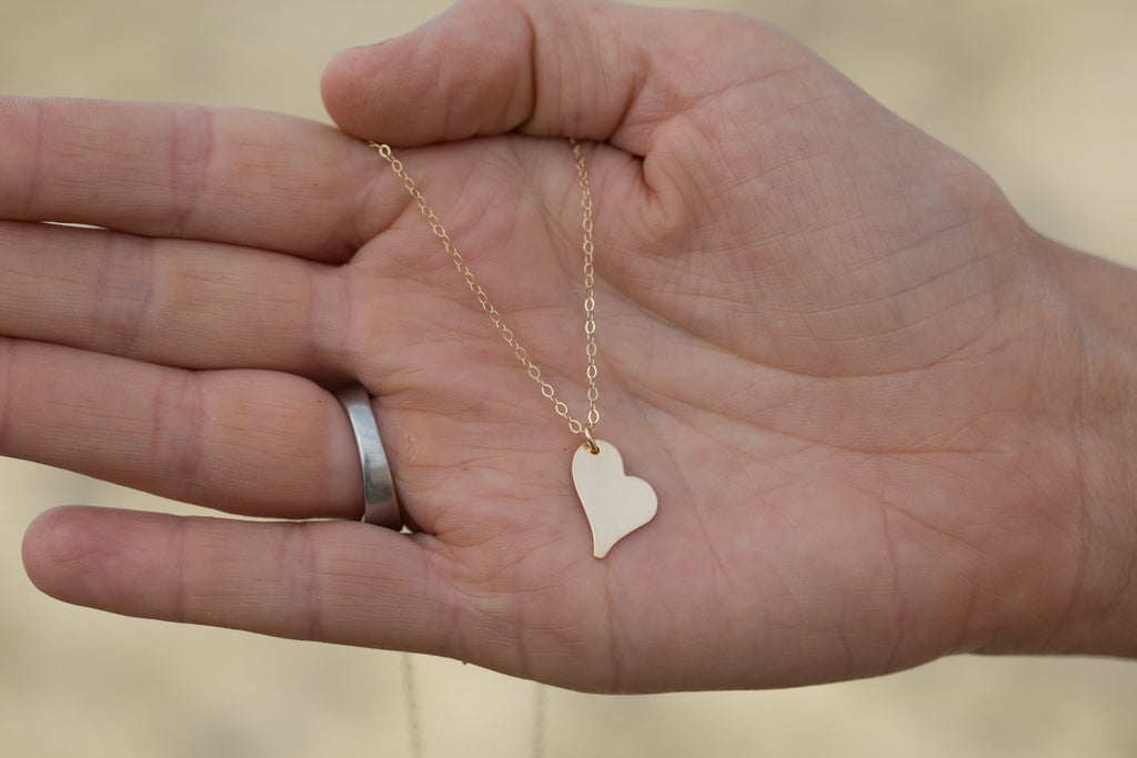 Wild Heart Necklace - Gold