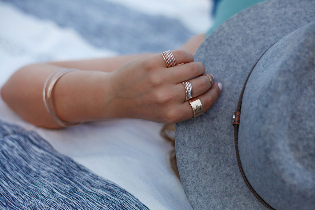 Stacking Rings - Your Choice of 3