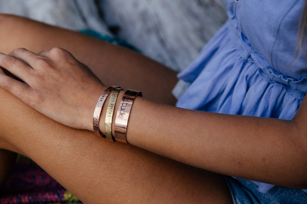 Copper Cuff - Small