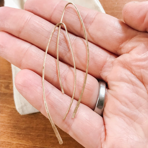 Flow Earrings - Gold