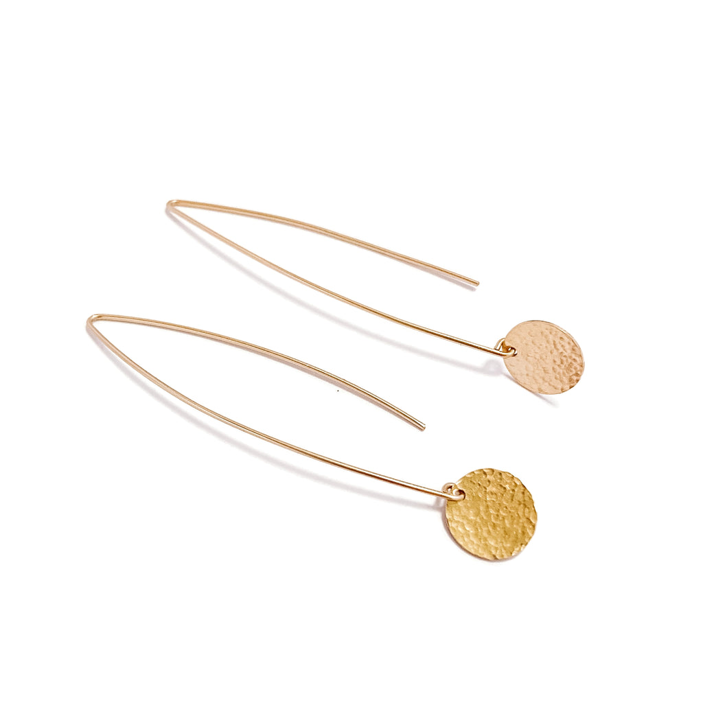 Disc Flow Earrings