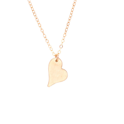Wild Heart Necklace - Rose Gold
