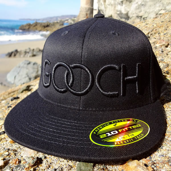 35d6f283e06654 Rings Fitted Hat - Stealth Black – Gooch Apparel