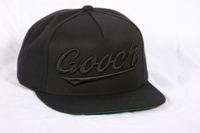 GOOCH - ROCKY SNAPBACK ALL BLACK