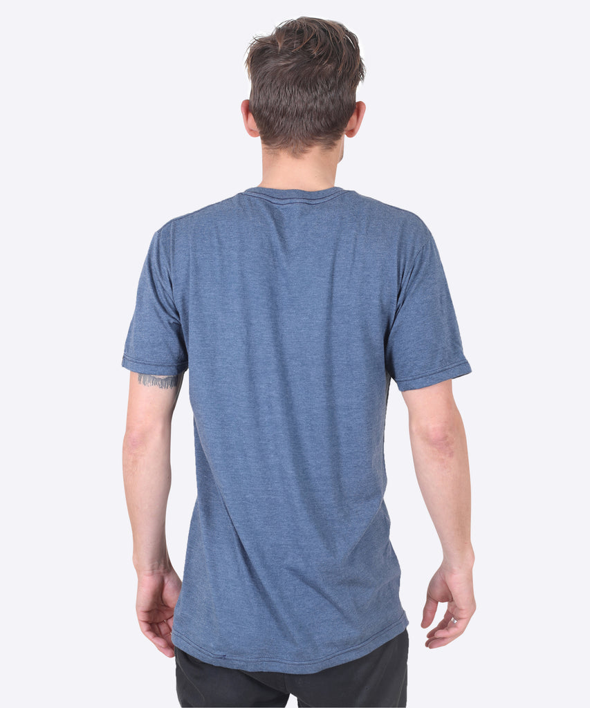 Aqualung Tee - Navy Heather