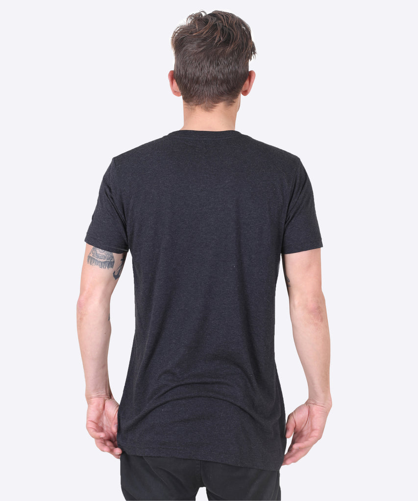Aqualung Tee - Black Heather