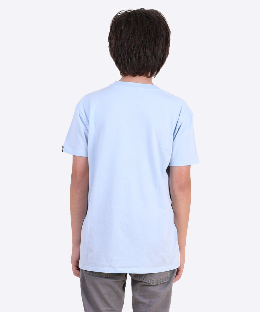 Bloodclot Youth Tee - Sky Blue