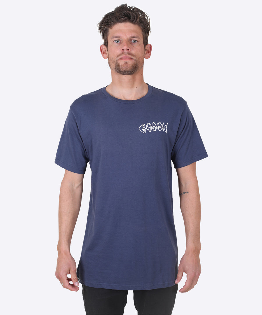 Bonez Tee - County Blue