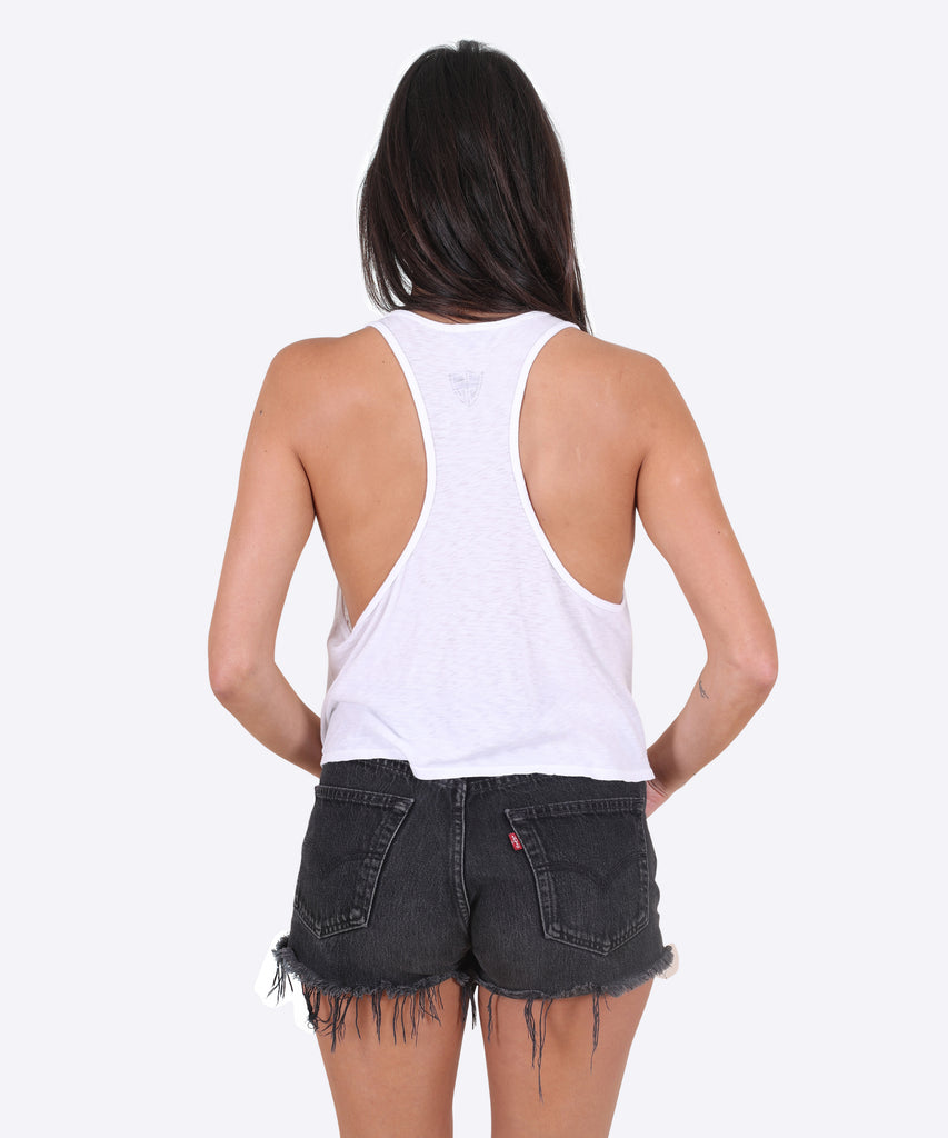 Bonez Tank Womens - White