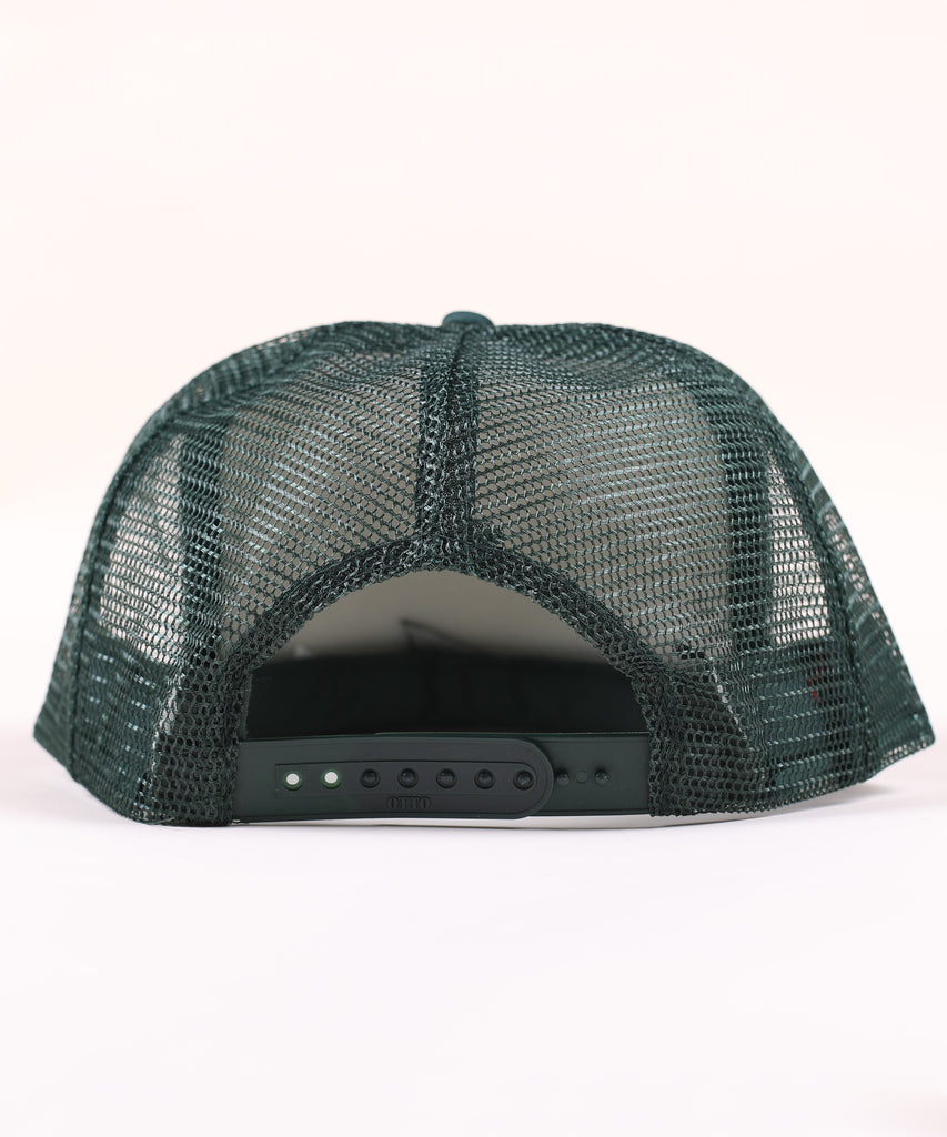 DIRTYBIRD Foamie TRUCKER DARK GREEN