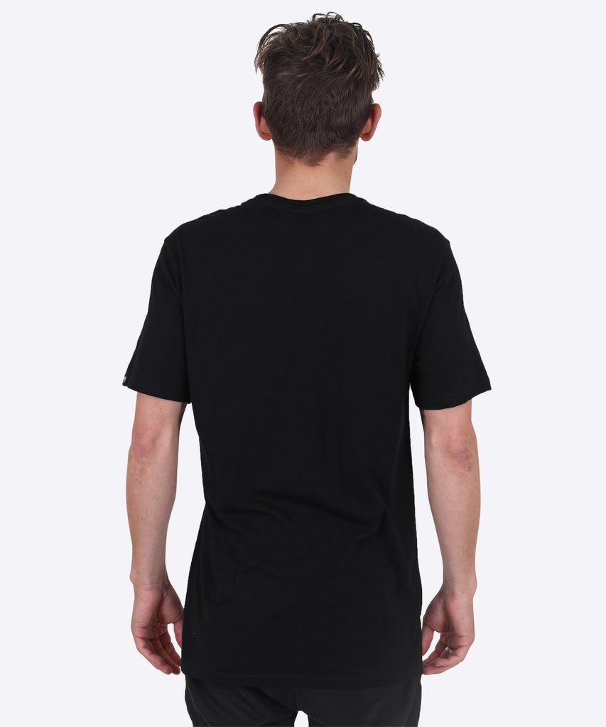 V-SHIELD TEE - BLACK (V-NECK)