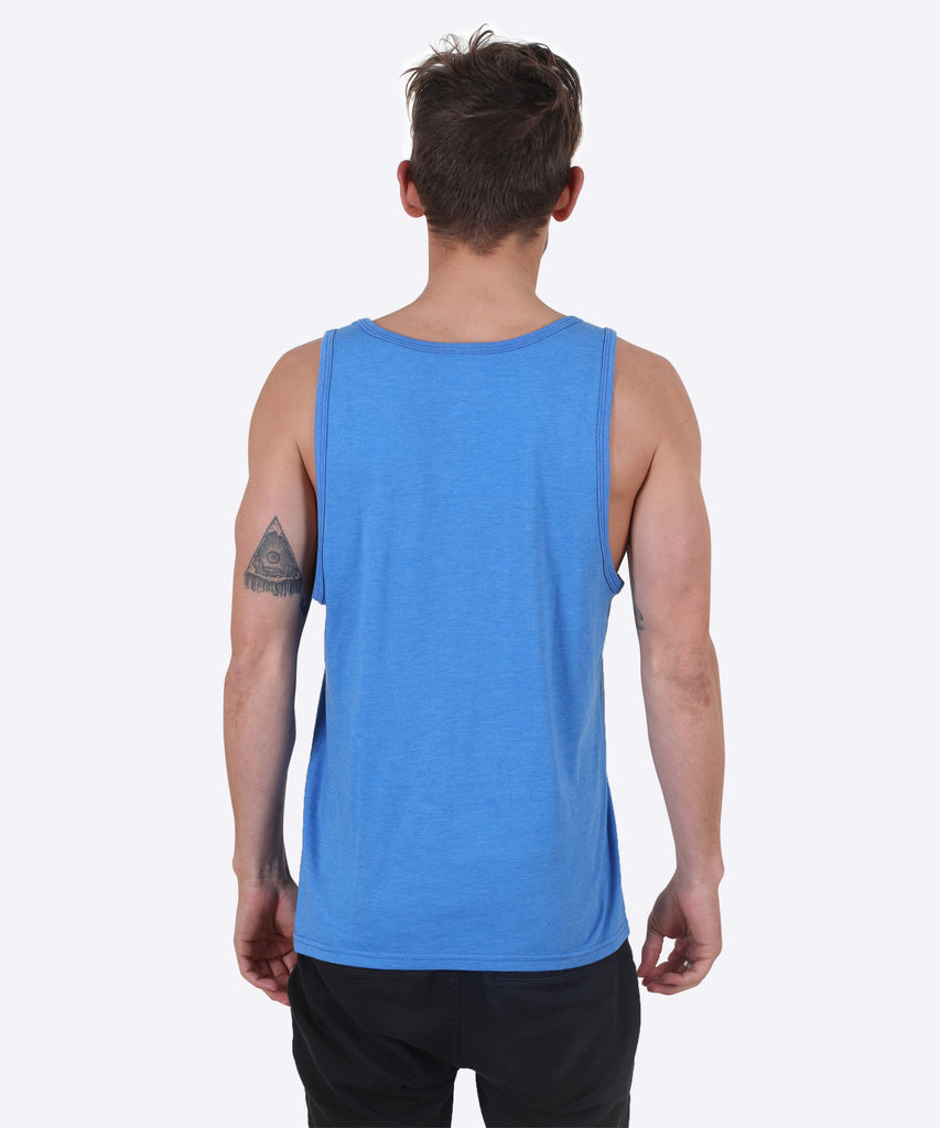 Tropic-Al Tank - Royal Blue