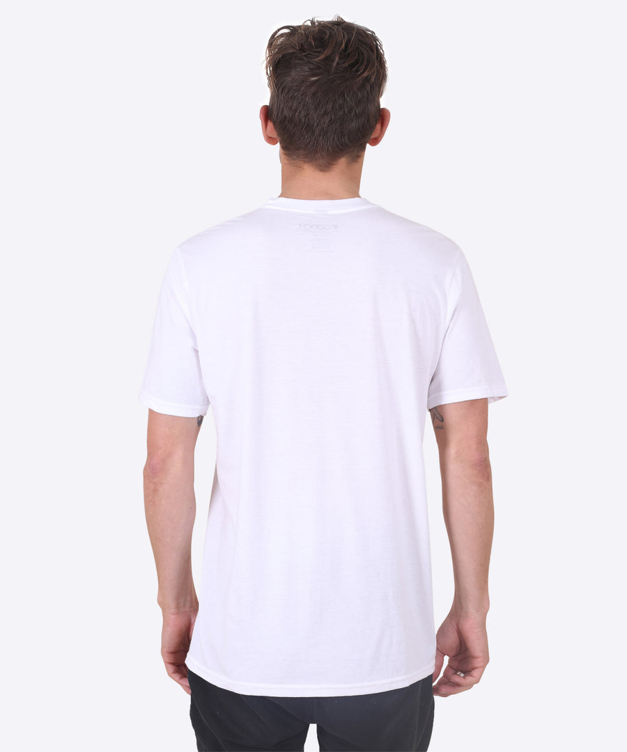 Goochside of the Tube Tee - White
