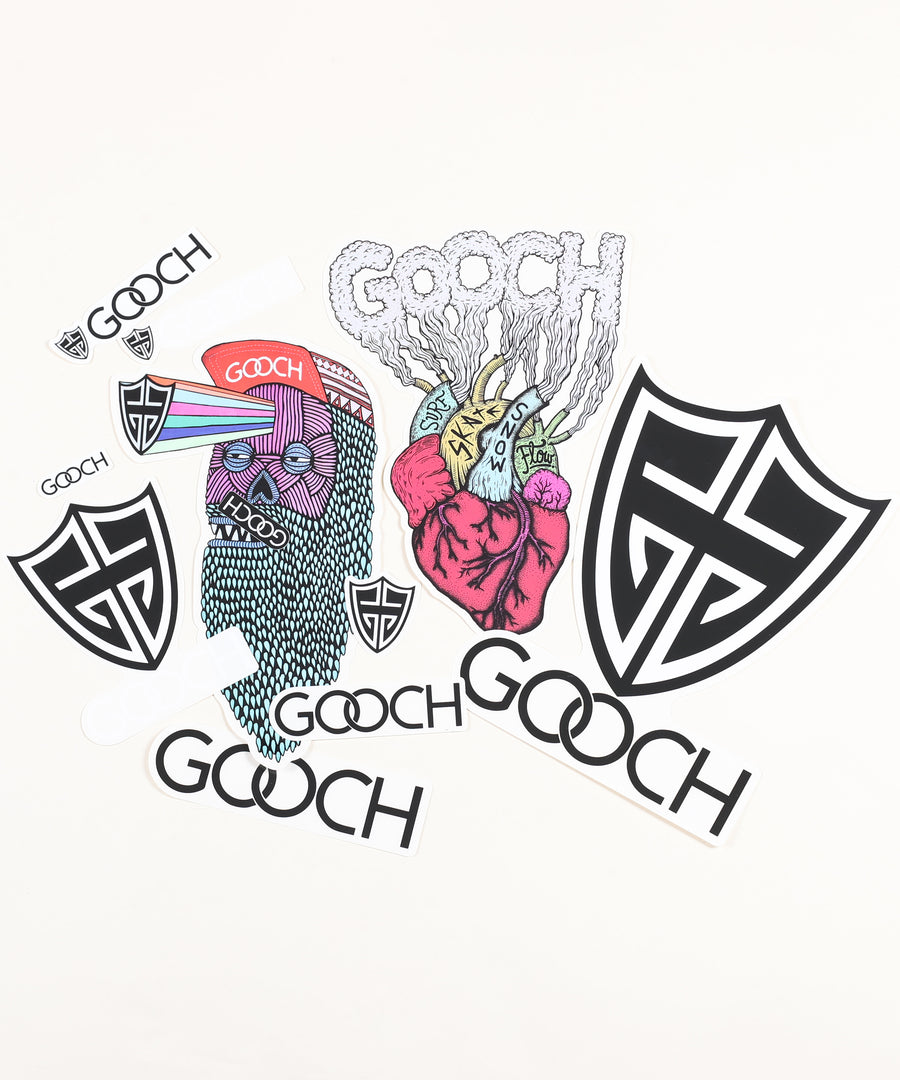 Gooch Sticker Pack (10)