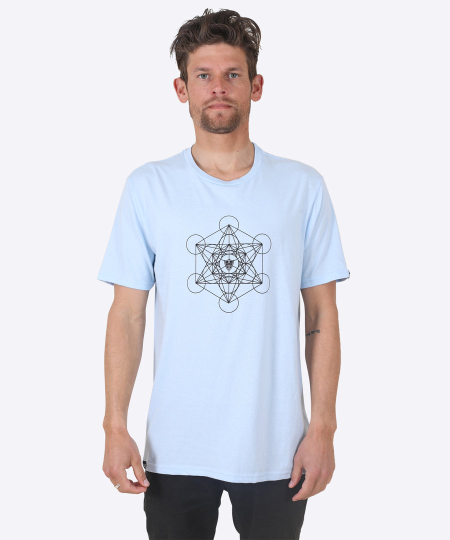 METATRON TEE - BLUE ICE