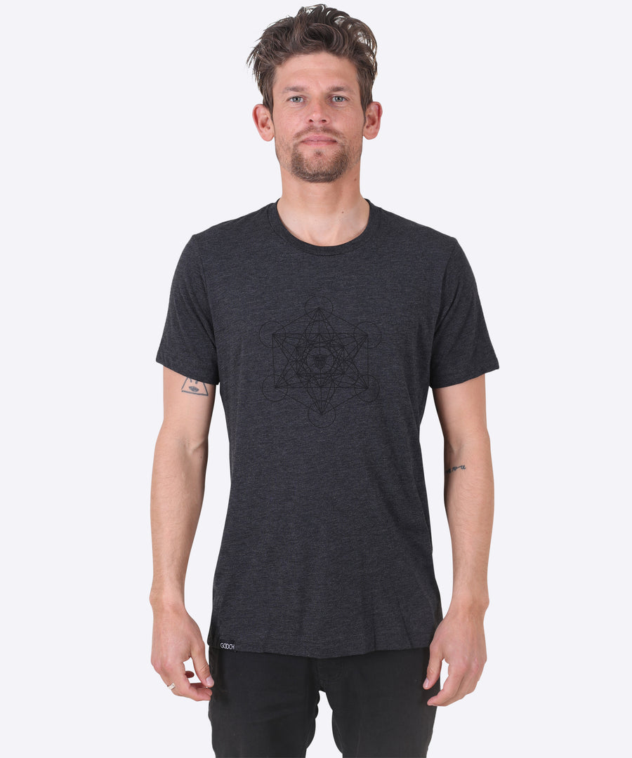 METATRON TEE - CHARCOAL