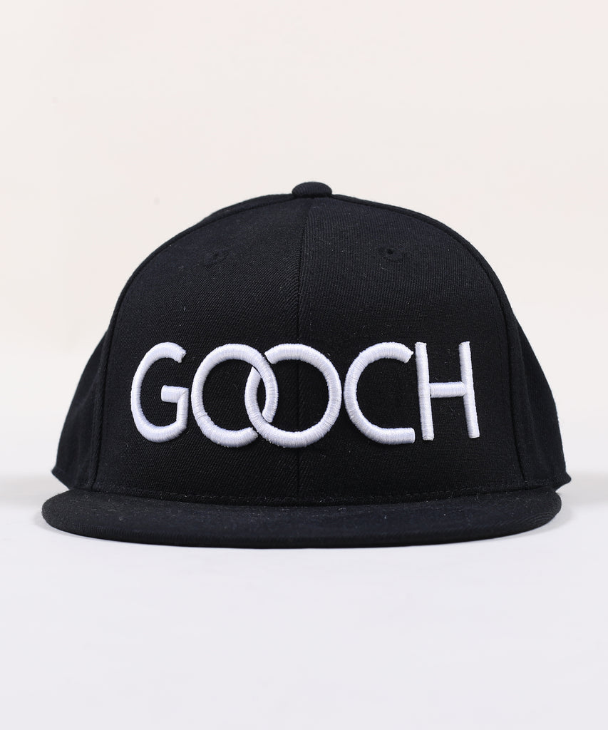 Rings Fitted Hat - Black with White