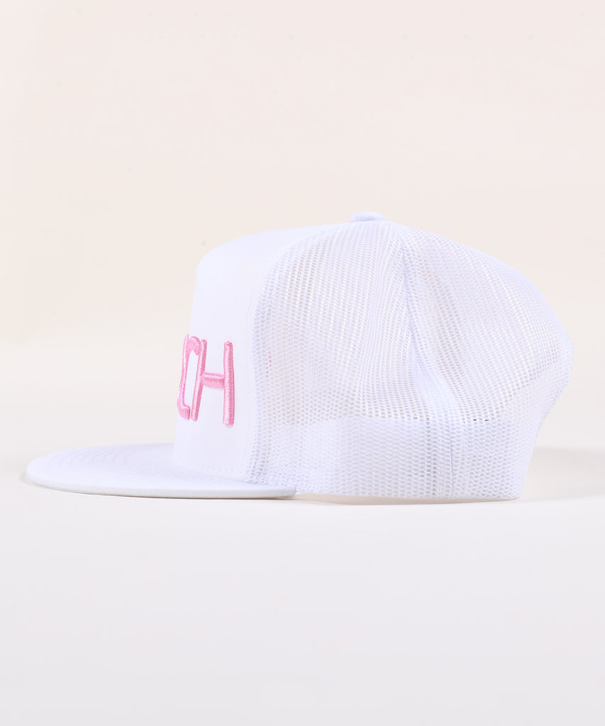 Rings Canvas Trucker - Pink