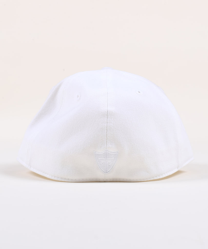 Rings Fitted Hat - Stealth White