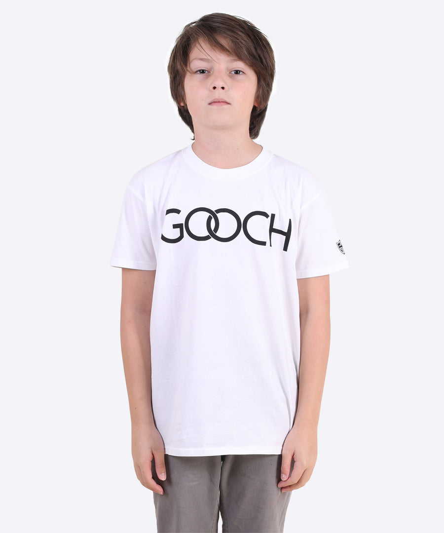 Gooch Rings Youth Tee - White
