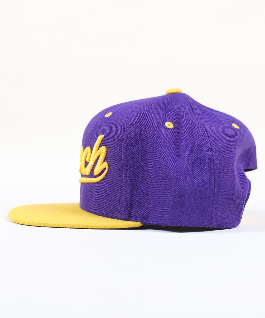 ROCKY SNAPBACK - PURPLE / GOLD