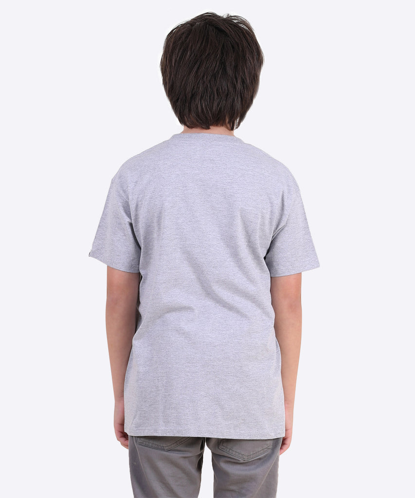 Rocky Youth Tee - Heather Grey