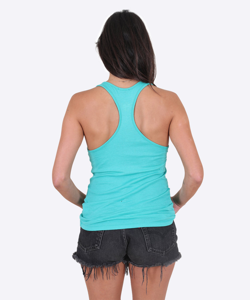 Shield Tank Womens - Jade