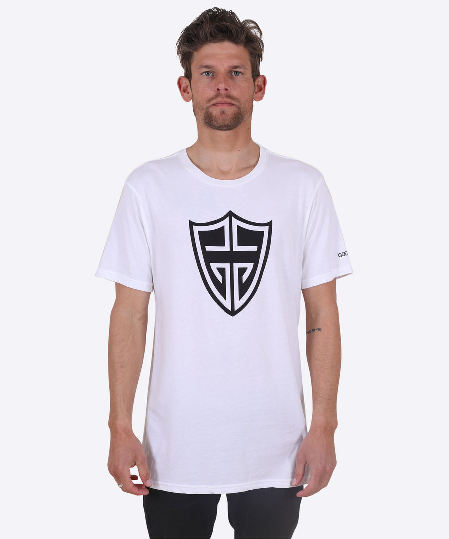 Shield Tee - White