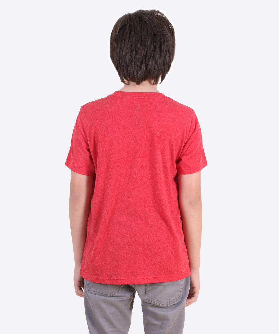The Gooch Youth Tee - Vintage Red