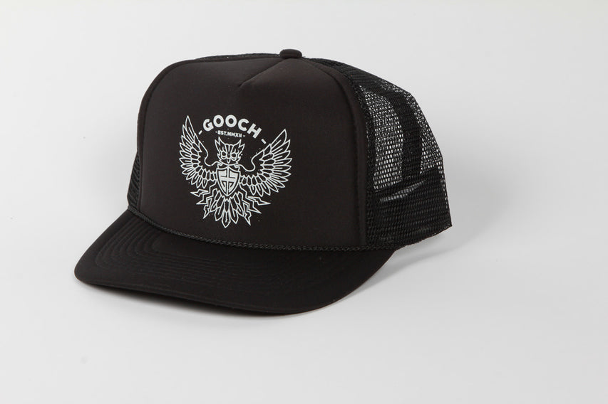 GOOCH - DIRTYBIRD TRUCKER BLACK