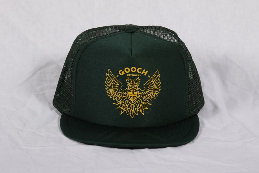 GOOCH - DIRTYBIRD TRUCKER DARK GREEN