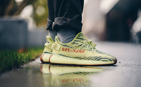 online store cb258 a47ee Yeezy Boost 350 V2 Frozen Yellow
