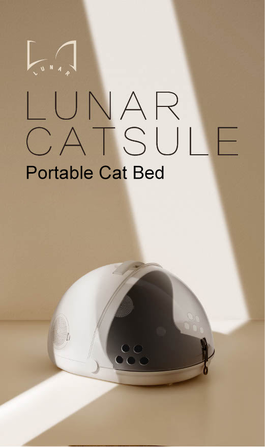 "Lunar ""Catsule"" Portable Pet Bed"