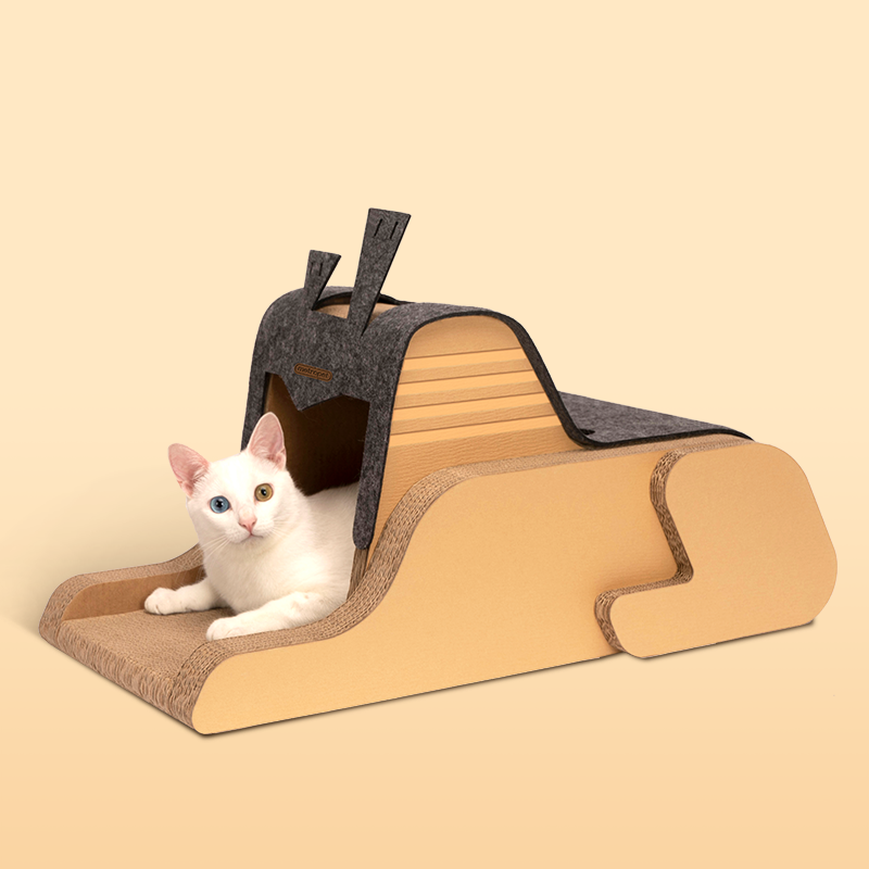 METROPET THE SPHINX SCRATCHER CAT BED