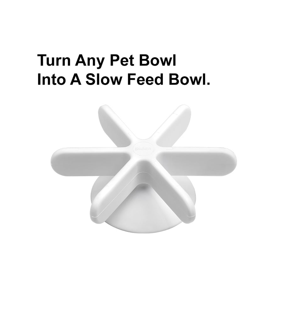 "pidan ""Snowflake"" Slow Feeder Accessory for Pet Bowls"