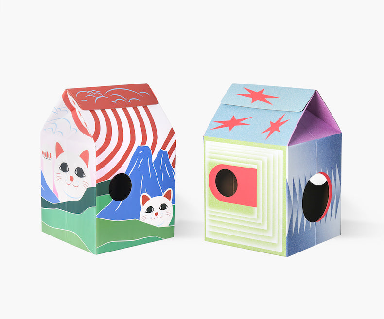 Pidan Cat House Cat Scratcher