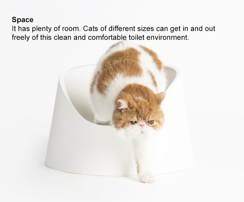 "pidan ""Snow Mountain"" Cat Litter Box incl. one litter scoop"