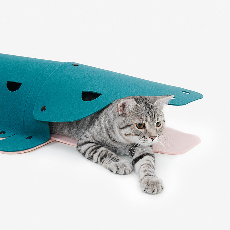 pidan Pet Tunnel for Cats, Alligator Type