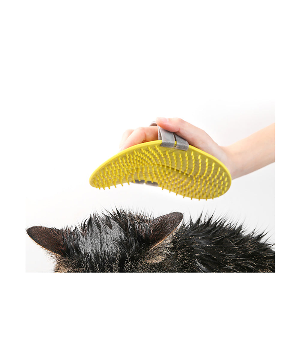 Pet Multi-purpose Brush with Velcro Strap