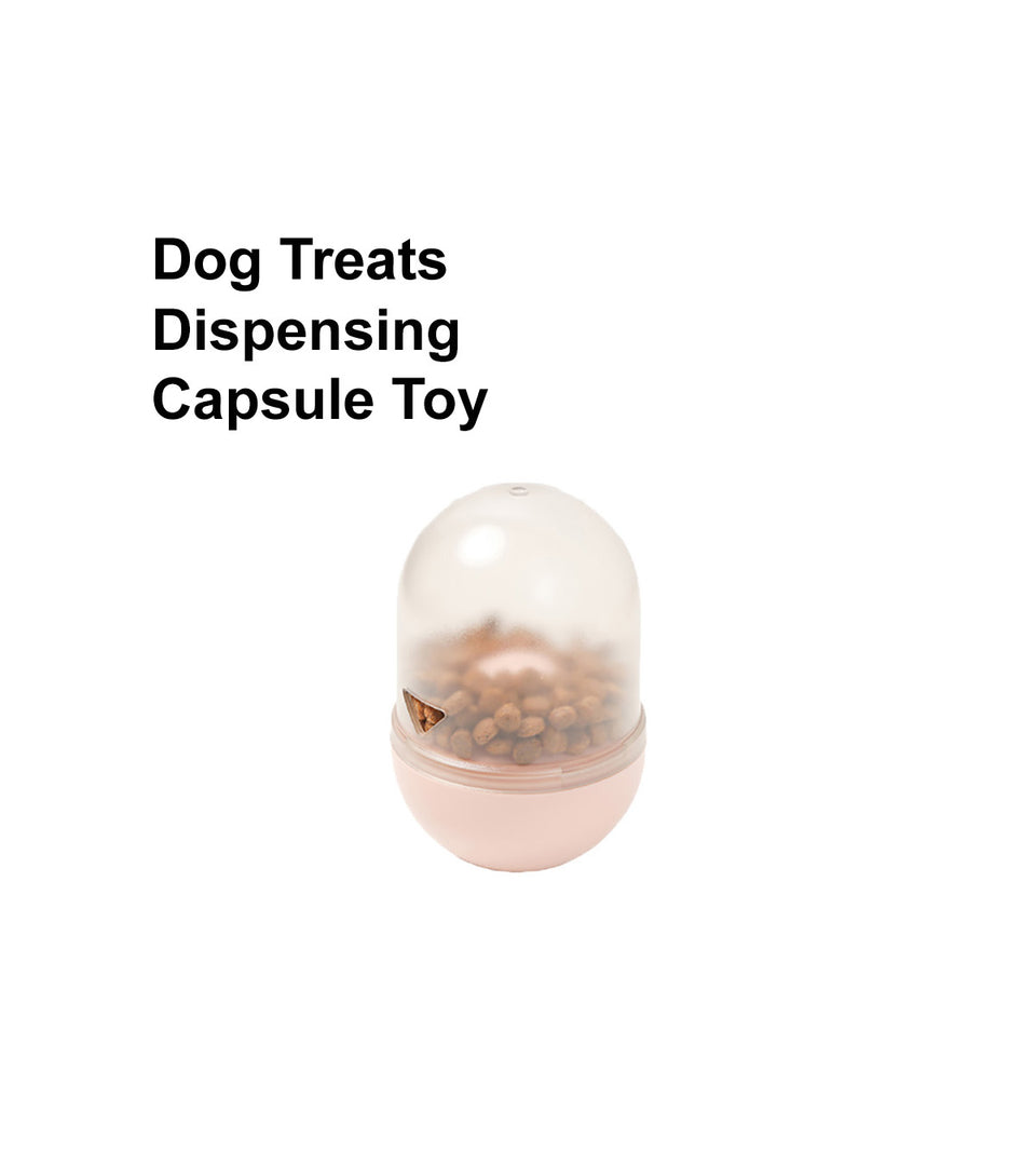 Dog Treats Dispensing Toy - Capsule Style
