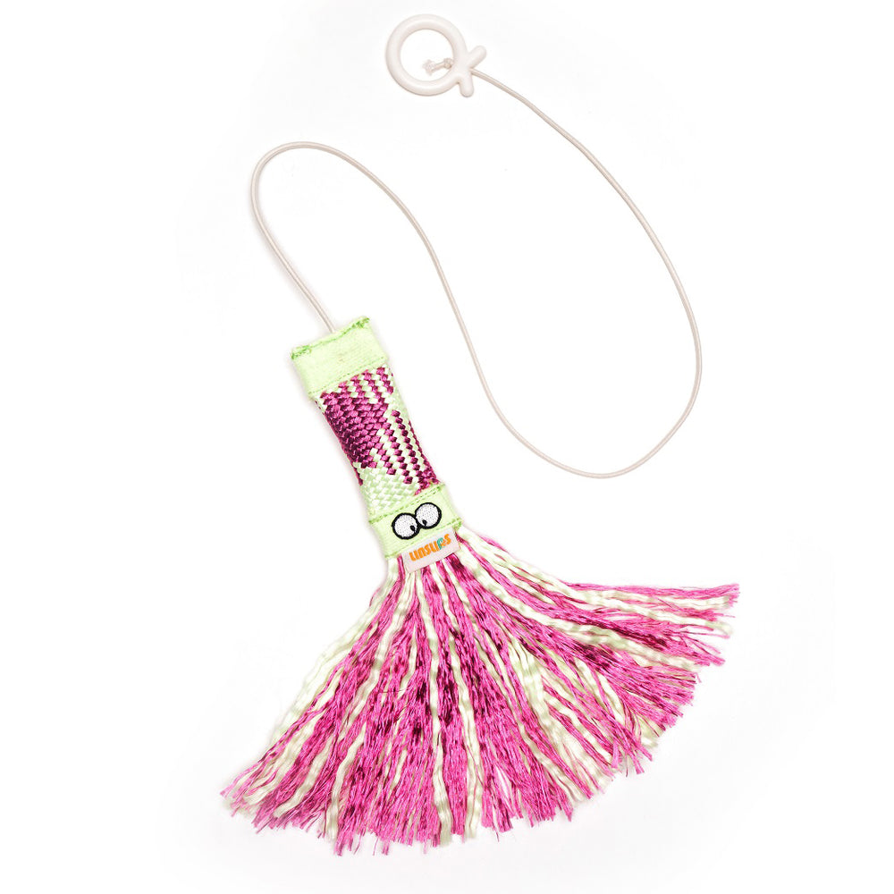 LINSLINS LUMINOUS TASSEL CAT TEASING TOY