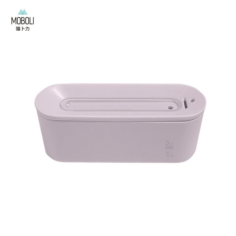 MOBOLI Pet Ceramic Water Drinking Fountain, River Type