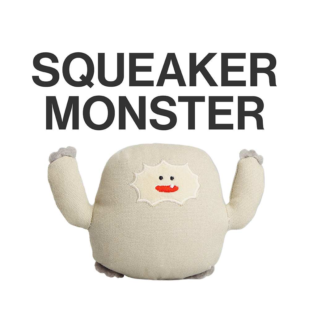 pidan Dog Squeaky Toy, Little Monster Series, 4 Types