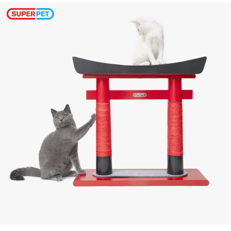 METROPET Replacement Part for Cat Scratching Board, Japanese Torii type