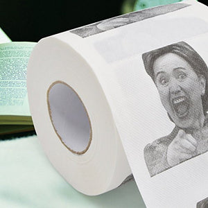 Hillary Clinton Toilet Paper - Beyoung® Dump with Hillary!- Highly Collectible Novelty Toilet Paper - Funny for Democrats or Republicans - Give the Gift of Laughter- Funniest Political Gift of 2016 - RSPolitics Store